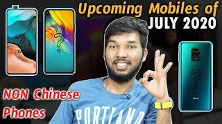 Upcoming SmartPhones of July 2020 | Non Chinese Mobiles