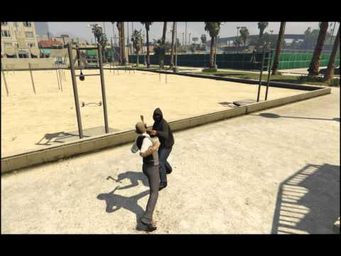GTA V - Fight With Hacker