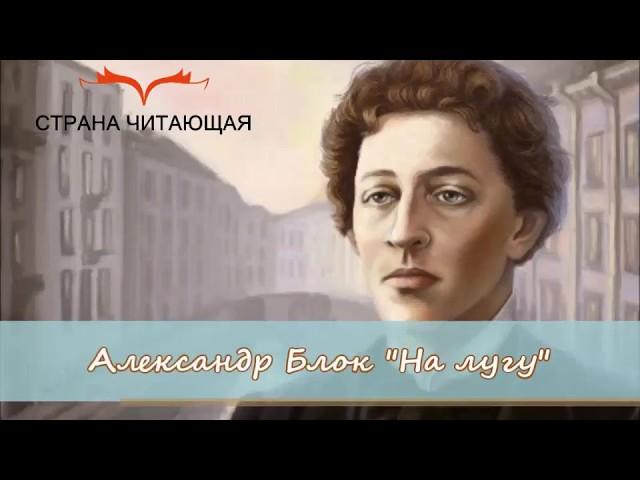 Изображение предпросмотра прочтения – ВероникаКитнюх читает произведение «На лугу.» А.А.Блока