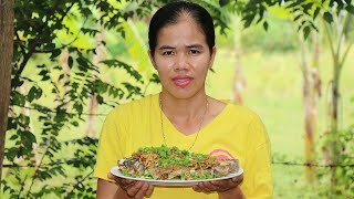 Asian Food, Yummy Cooking Fish With Ginger Soybean Recipe - Cook Fish Recipes - Village Food Factory