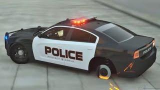 Полицейская машина Купер. Мультфильмы про машинки