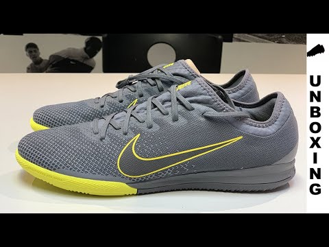 official shop official images 2018 sneakers Nike Mercurial Vapor 12 Pro IC Game Over - Dark Grey/Yellow