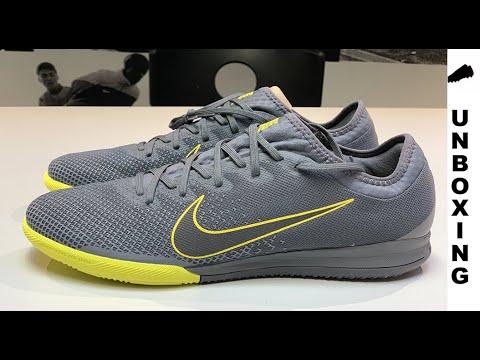 3fd892c47 Nike Mercurial Vapor 12 Pro IC Game Over - Dark Grey Yellow - YouTube