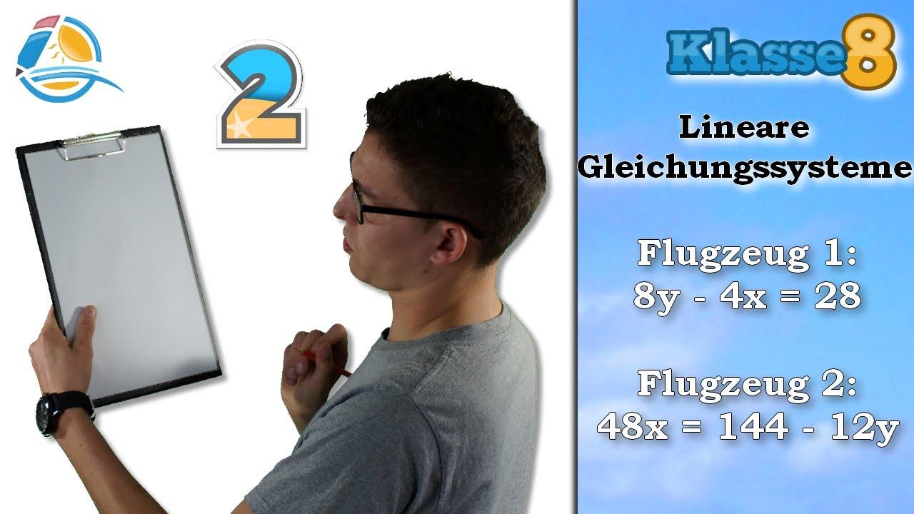 Lineare Gleichungssysteme || Klasse 8 ☆ Übung 2 - YouTube