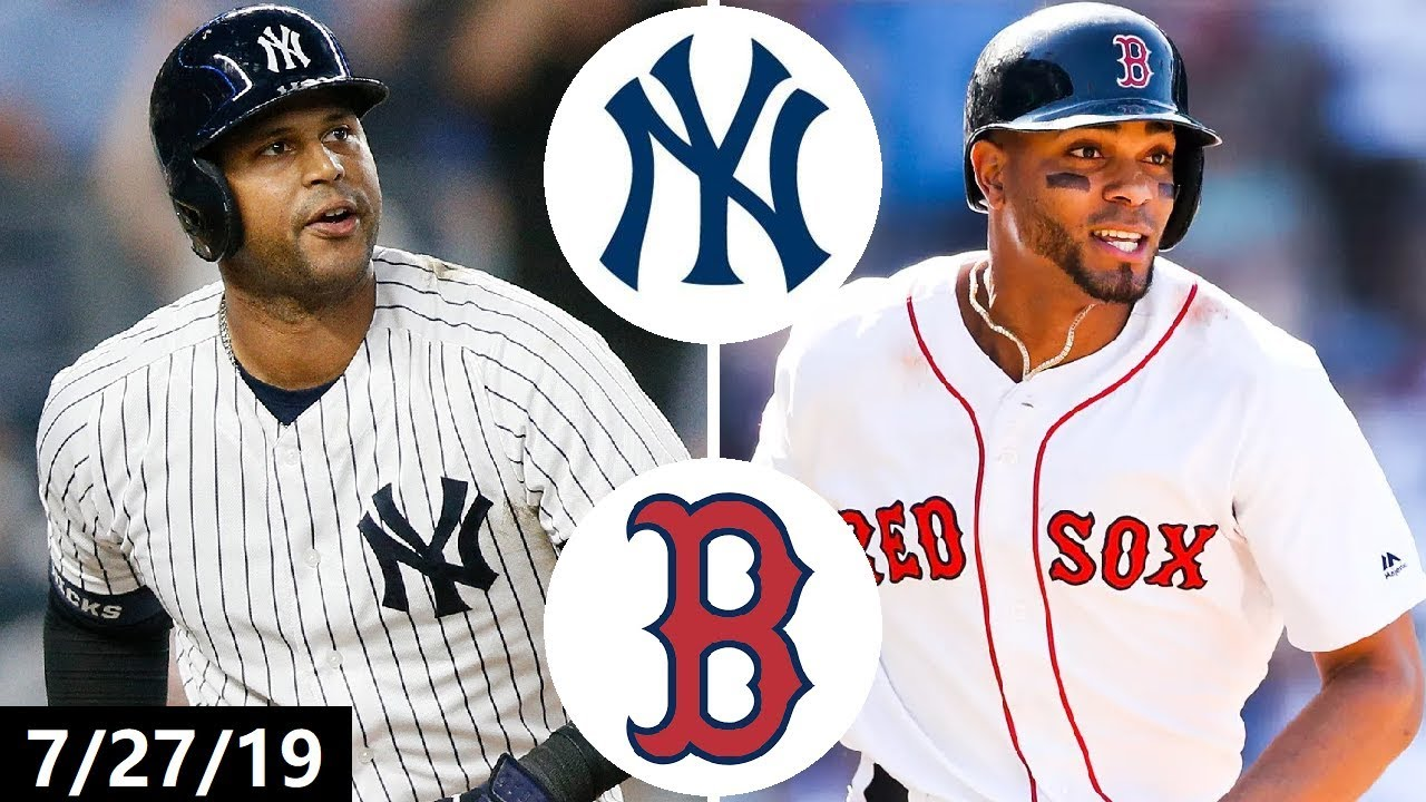 New York Yankees vs Boston Red Sox Highlights   July 27, 2019 (2019 MLB Season)