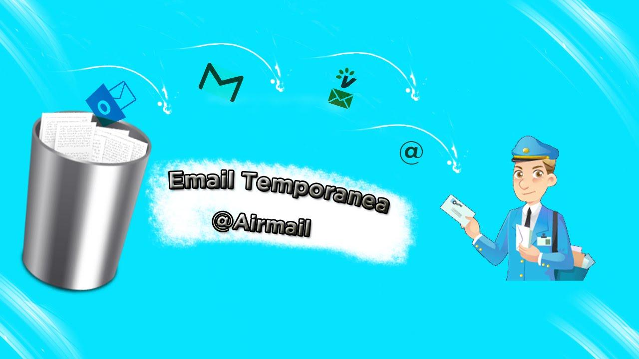 Come creare un account email anonima
