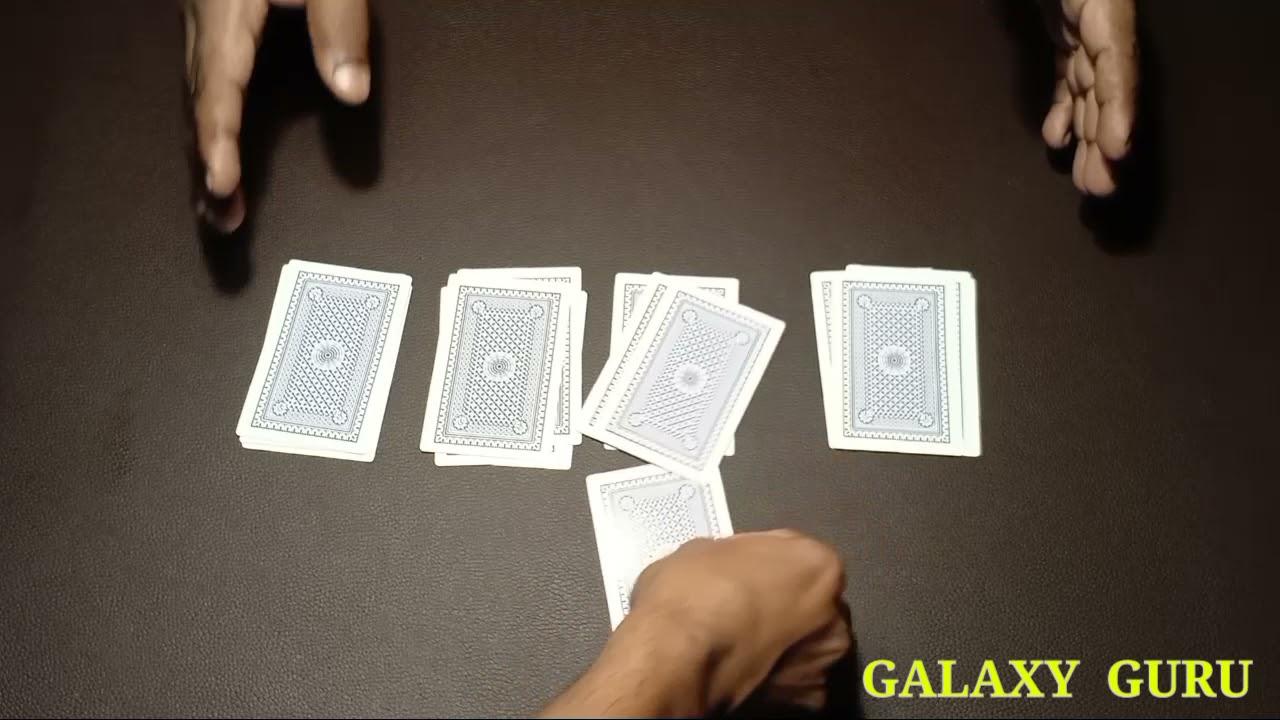 16 cards esey math magic tricks 🙄#galaxyguru#