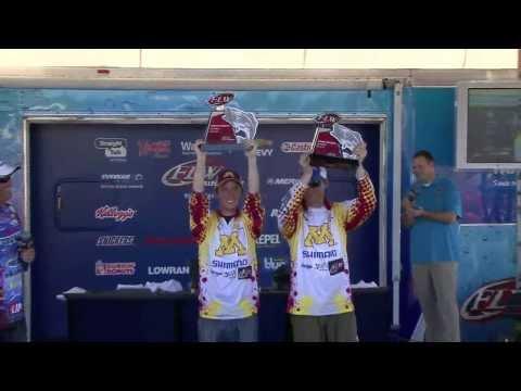 2014 FLW College Fishing National Championship - Winning Moment