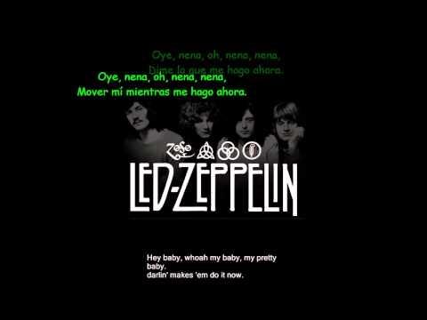 Led Zeppelin Black Dog Subtitulos Ingles Español)
