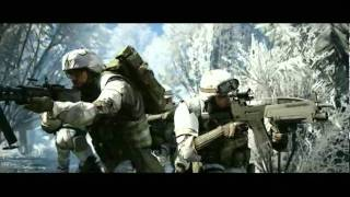 Battlefield Bad Company 2 pc game, mission 2 cinematics.