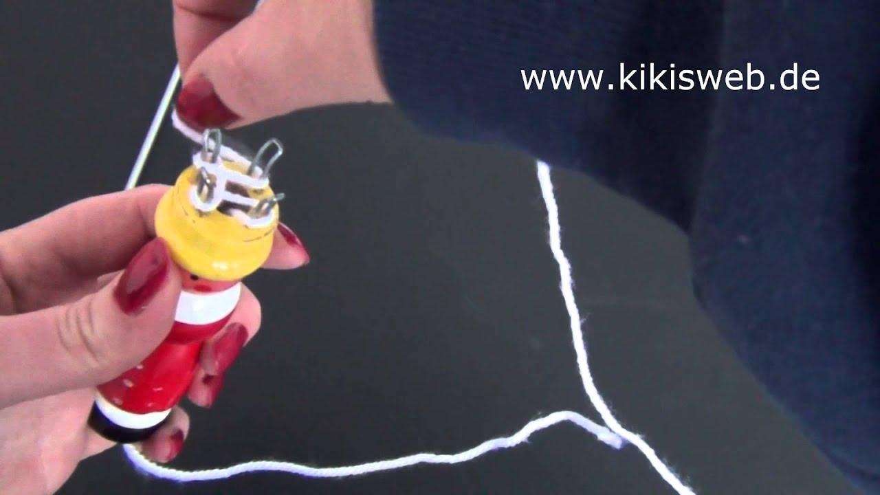basteln strickliesel anleitung youtube - Strickliesel Muster