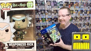 Baixar Rick &  Morty Virtual Rick-ality Collector's Edition PlayStation 4 with  Weaponized Rick Funko Pop