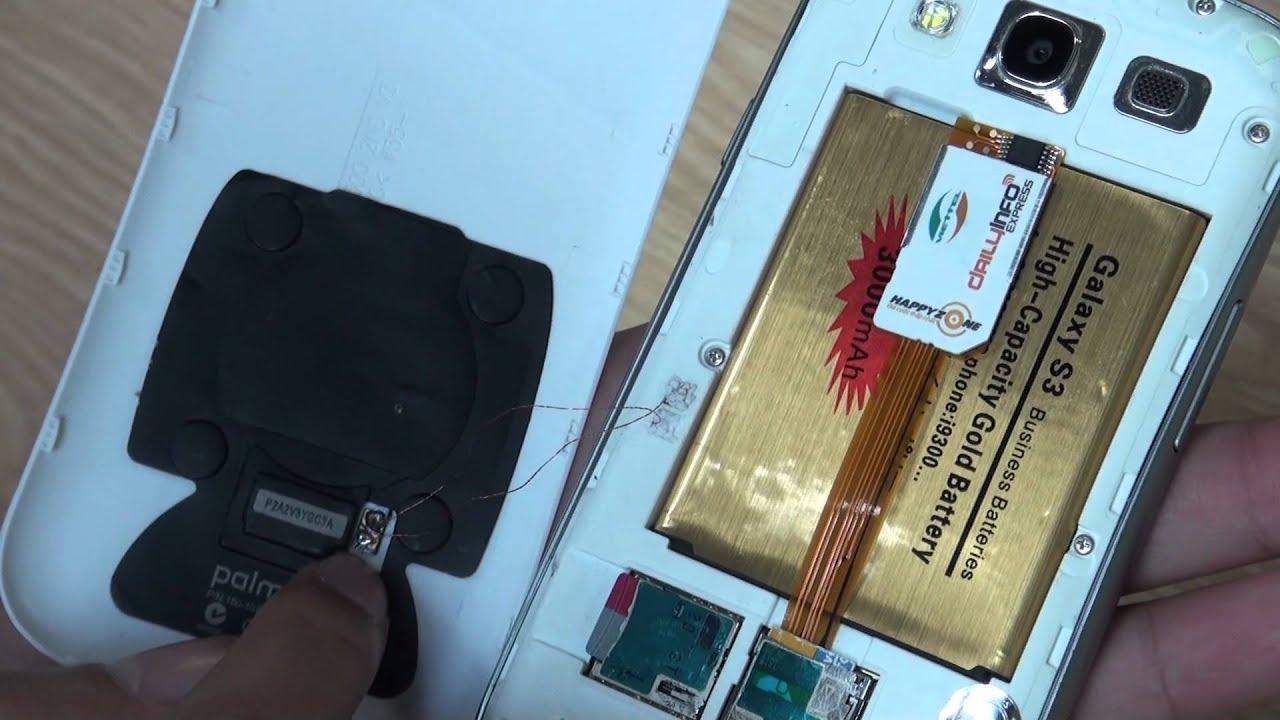 Tinhte.vn – Trên tay Samsung Galaxy S3 độ 2 SIM và sạc không dây