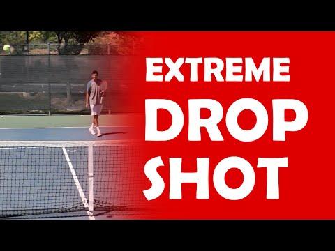 Extreme Drop Shot | TRICK SHOTS