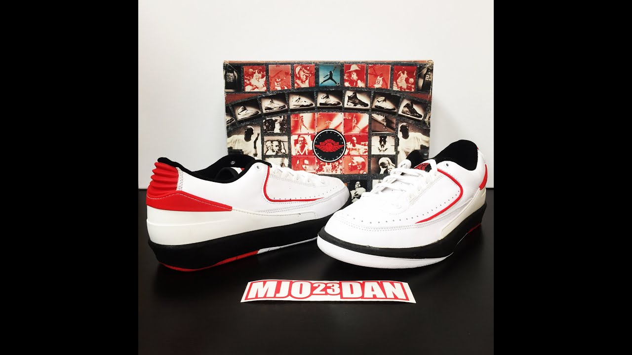 The 1995 Retro Air Jordan II 2 Low