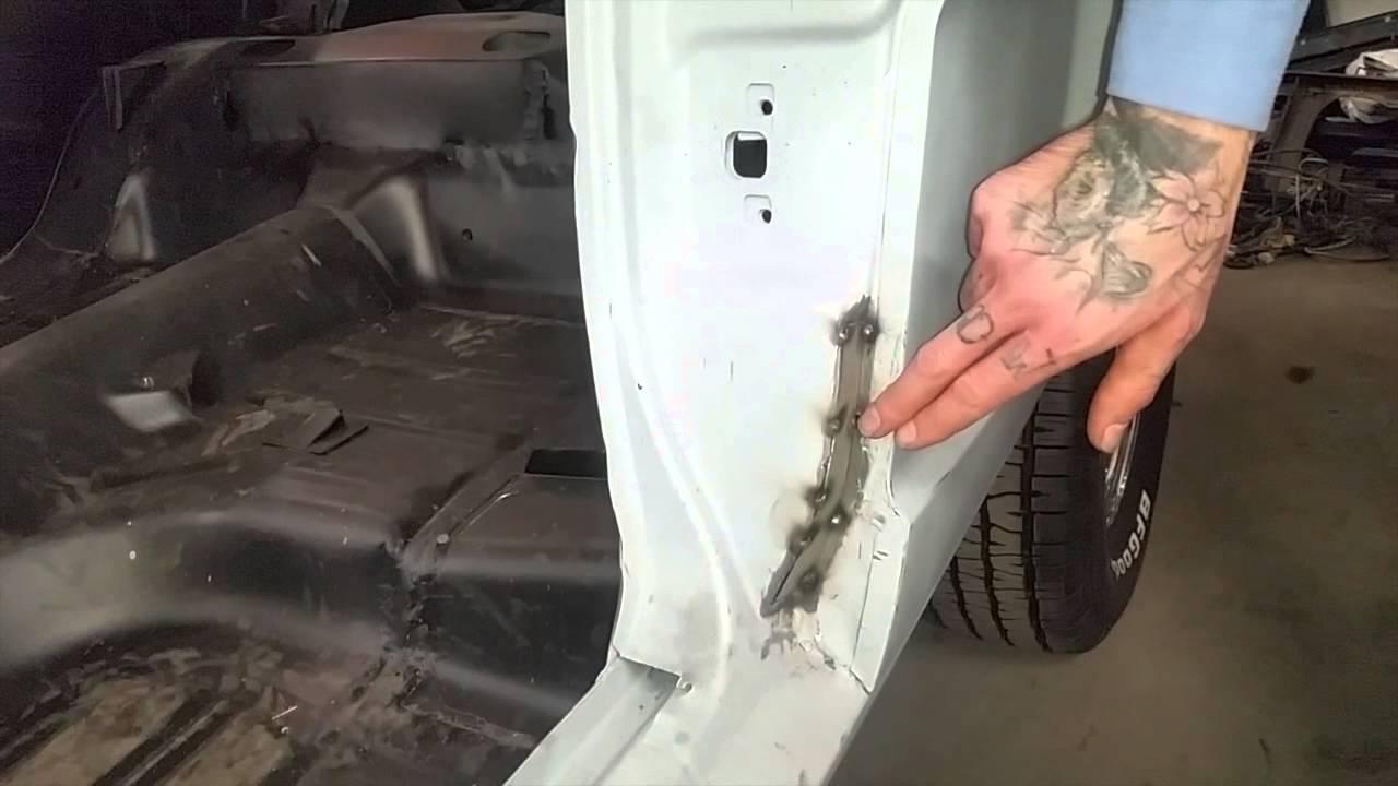 Metal Patch Door Jam Kasper S 1965 2 2 Ford Mustang