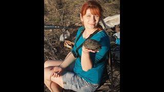 Вечерний клёв на озере в начале мая и черепаха