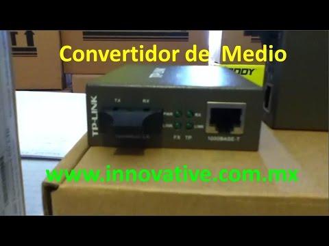 Convertidor de Medio Ethernet Gigabit TP-LINK | Media Converter |