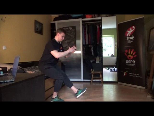 Ćwiczenia na dolne partie mięśniowe. Ośrodki Szkolenia w Piłce Ręcznej