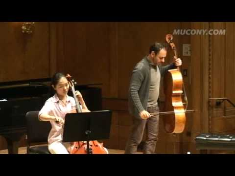 Masterclass on Beethoven Cello Sonata #1 with Gary Hoffman