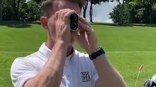 PGM 골프 거리측정기 충전식 레이저 거리 측정기 40…