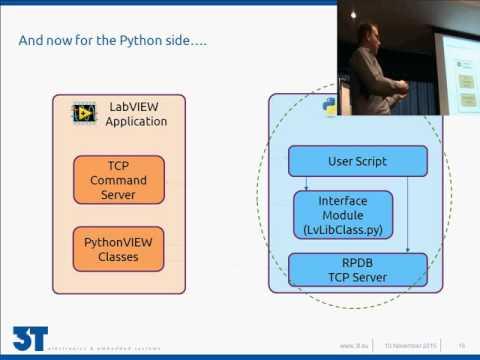 LabVIEW scripting using Python