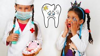 PIPONA Лера и Вика - собрались лечить зубы