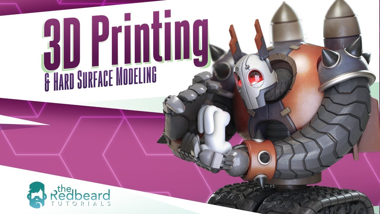 3D Printing and Hard Surface Modeling in ZBrush