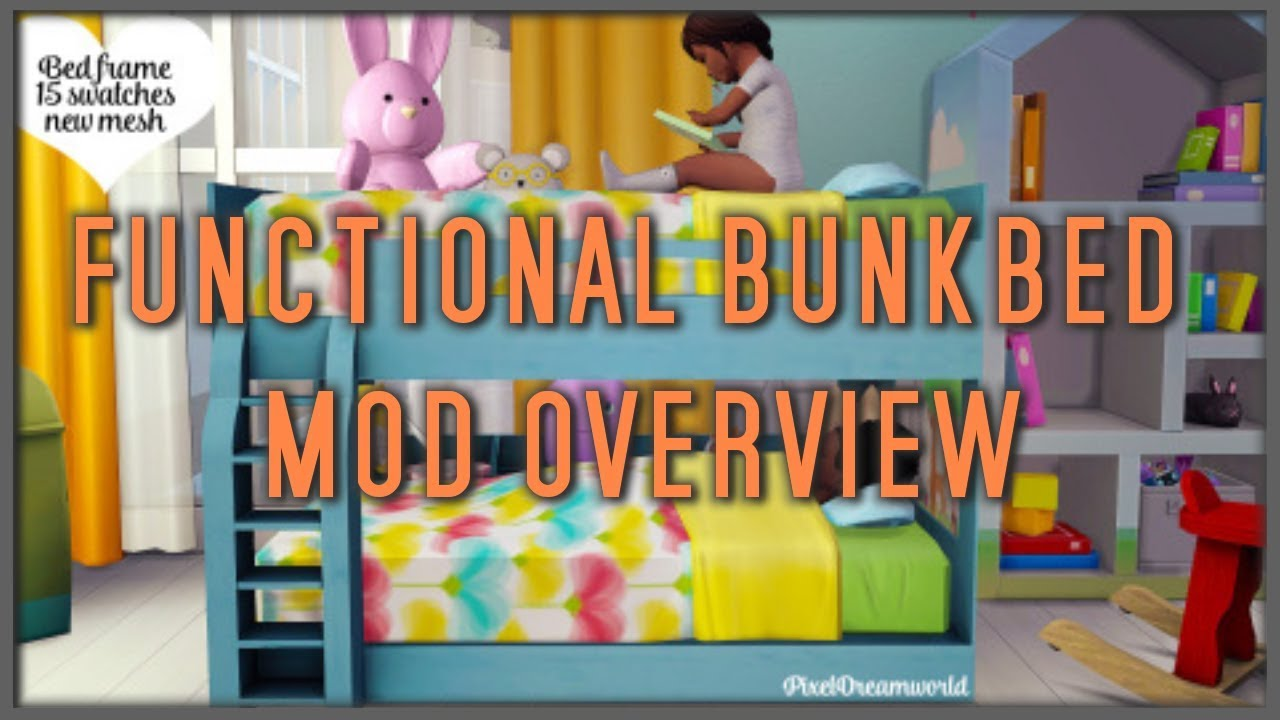 Usable Toddler Bunkbeds The Sims 4 Mod Overview Youtube