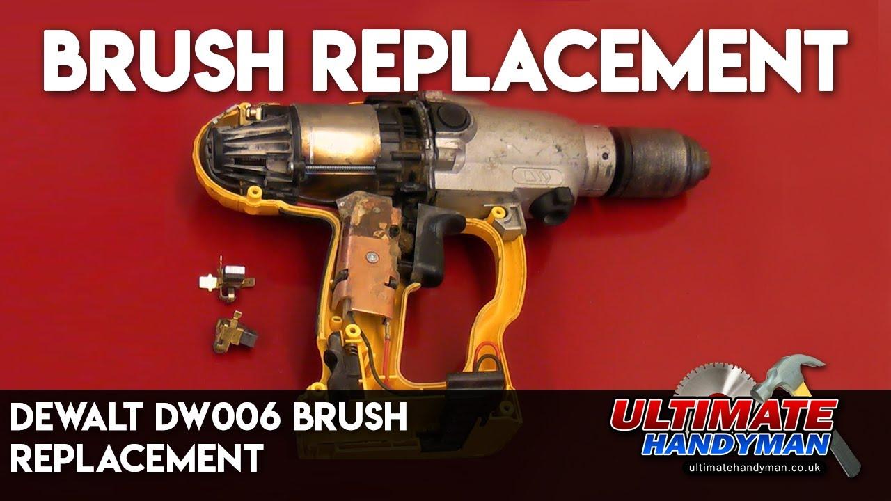 Dewalt Dw006 Brush Replacement Youtube