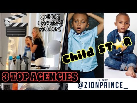 TIPS TO GET YOUR CHILD INTO MODELING (AGENCIES AS WELL)