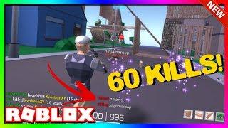 60 KILLS IN 2 MINUTES! (Roblox Strucid Montage)