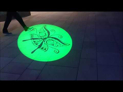 Hikari Tabi Namba parks Osaka  Japan 10th November,2017 Slideshow