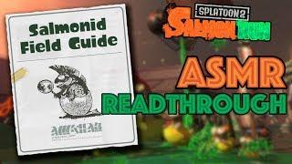 Salmonid Field Guide ASMR READTHROUGH!!