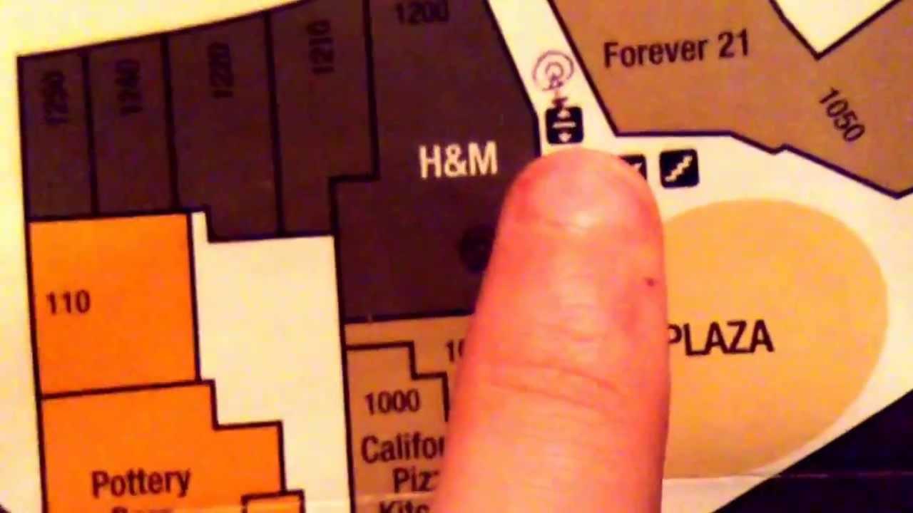 Elevator Map in the Promenade Mall Temecula CA YouTube