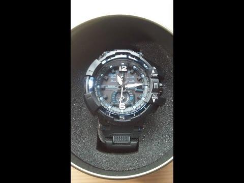 RECENZJA Casio G-Shock GW-A1100FC - czyli Aviator bez tajemnic. Opis funkcji i działania zegarka.