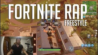 Fortnite Rap FreeStyle - Playing Fortnite While I'm Rapping