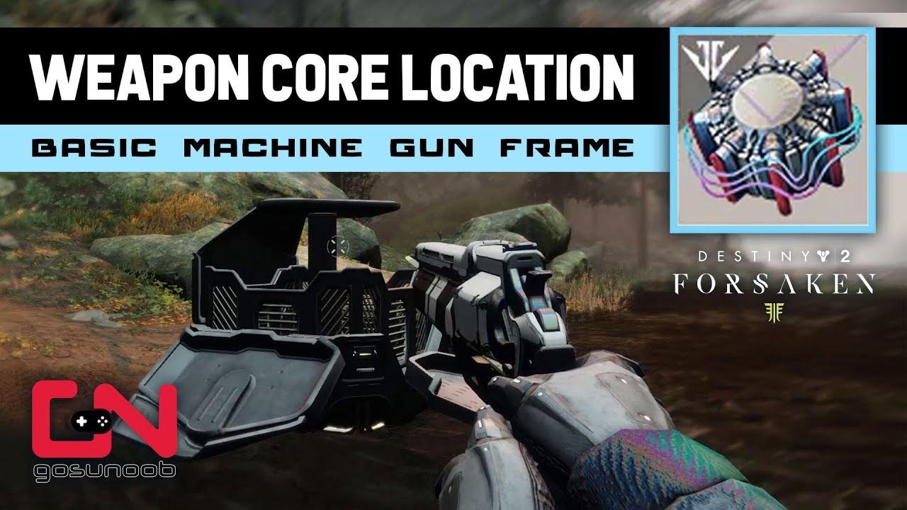 basic machine gun frame