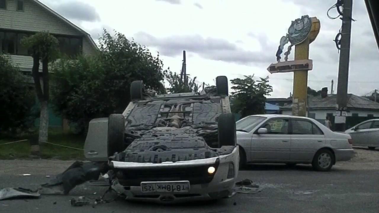 Бесконечная пробка из за ДТП с переворотом авто