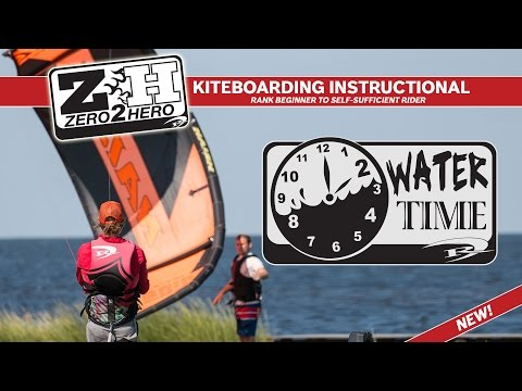 Kiteboarding Lessons: How to Launch and Land | Self Rescue (2 of 6)
