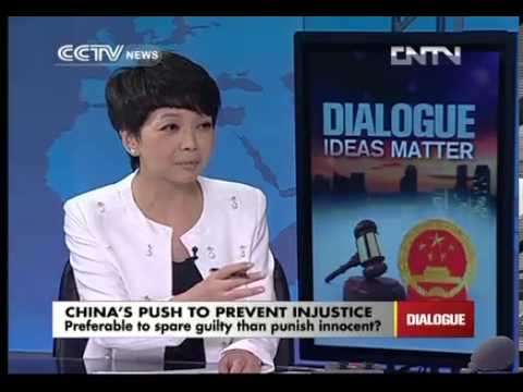 Lex Smith talk about China's push to prevent injustice on CCTV