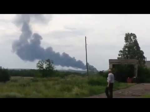 Ukraine Pro-Russian Rebels shoot down Malaysia Airlines Passenger Jet Airplane