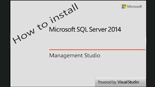 How to Install SQL Server 2014 Express and SQL Server Management Studio 2014 Express(, 2014-09-19T19:25:15.000Z)