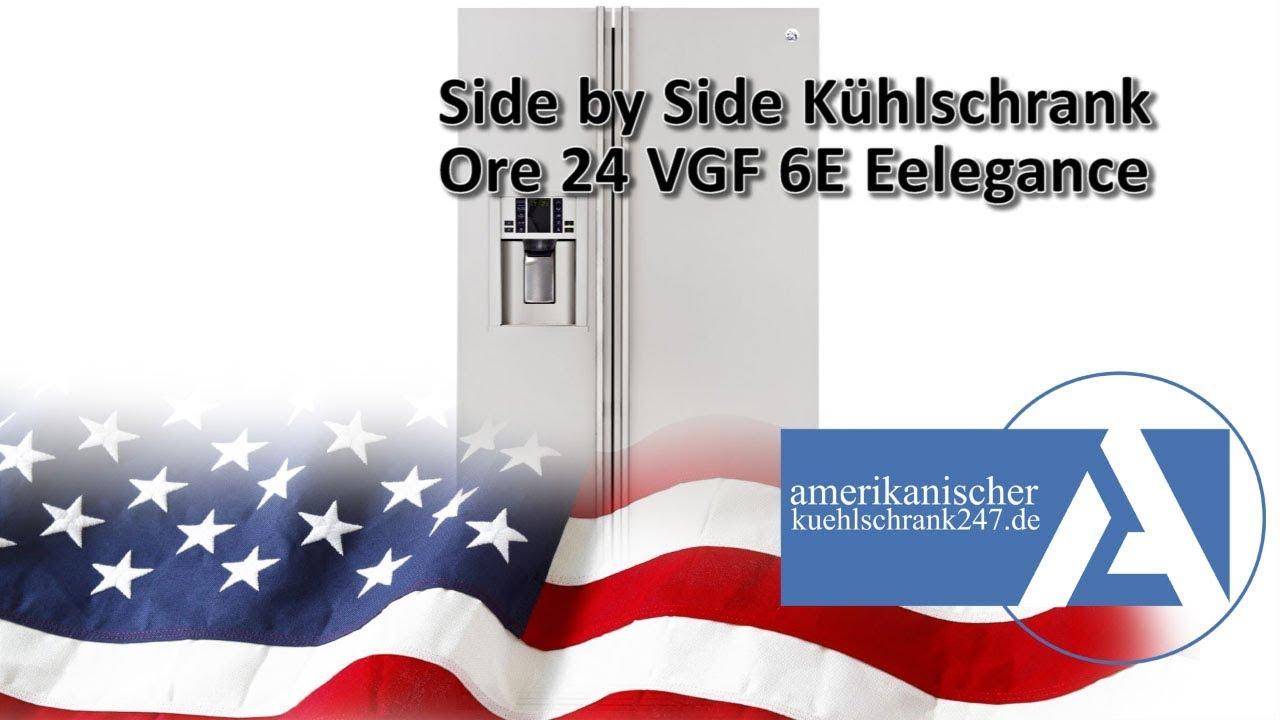 Amerikanischer Kühlschrank General Electric : General electric side by side kühlschrank rce vgf e elegance