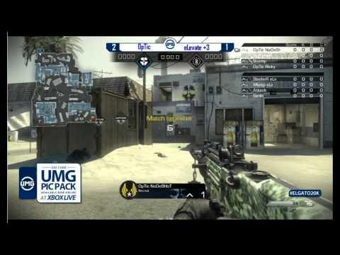 UMG Philadelphia 2014   Optic vs eLevate   Game 4 Octane Dom