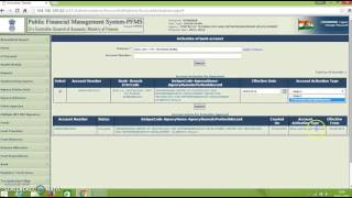 Activating accounts for e transactions