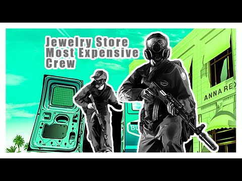 GTA V Jewelry Heist (Most expensive crew)