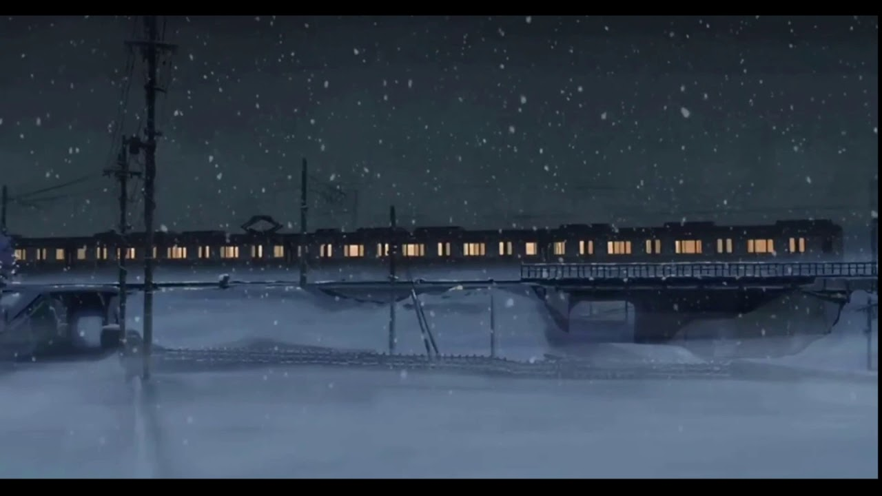 5 Centimeters Per Second 秒速5センチメートル Wallpaper Hd Youtube
