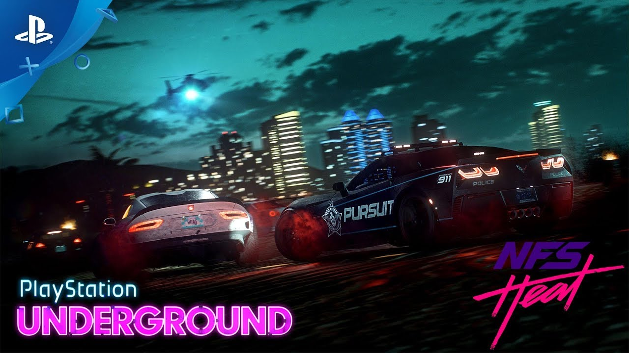 Need For Speed Heat Day And Night Gameplay Playstation