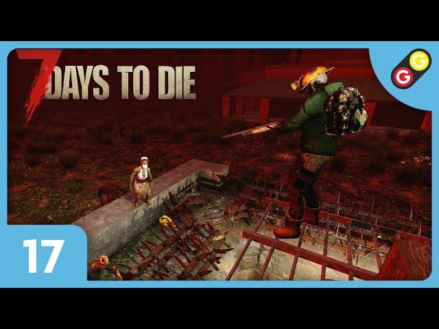 7 Days to Die - Let's Play 2 #17 La pire Lune de sang ! [FR]